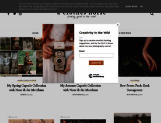 theclothes.blogspot.com screenshot