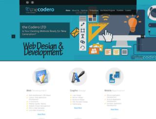 thecodero.com screenshot