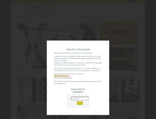 thecollection.fr screenshot