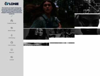 thecolonie.com screenshot