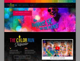 thecolorrun.my screenshot