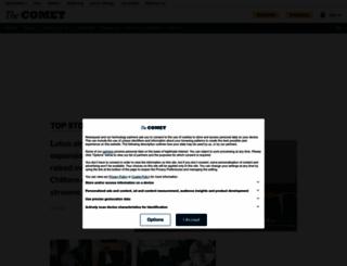 thecomet.net screenshot