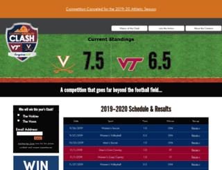 thecommonwealthclash.com screenshot