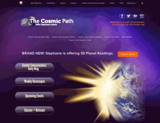 thecosmicpath.com screenshot