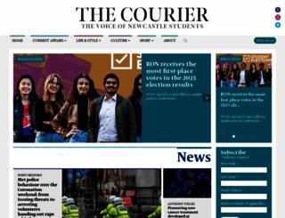thecourieronline.co.uk screenshot