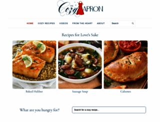 thecozyapron.com screenshot