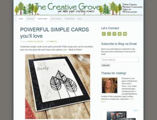 thecreativegrove.com screenshot