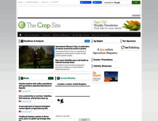 thecropsite.com screenshot