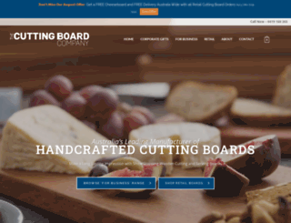 thecuttingboardcompany.com.au screenshot
