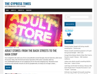 thecypresstimes.com screenshot