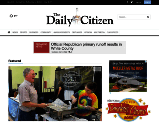 thedailycitizen.com screenshot