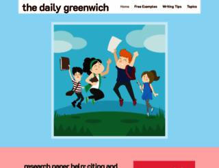 thedailygreenwich.com screenshot