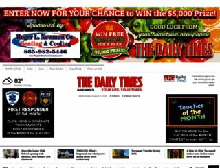 thedailytimes.com screenshot