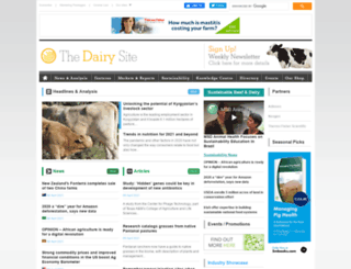 thedairysite.com screenshot