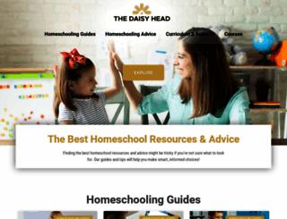 thedaisyhead.com screenshot