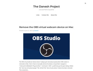 thedaneshproject.com screenshot