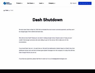 thedash.com screenshot