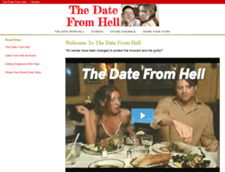 thedatefromhell.com screenshot