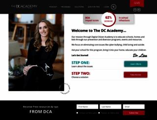 thedcacademy.com screenshot