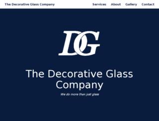 thedecorativeglasscompany.com screenshot