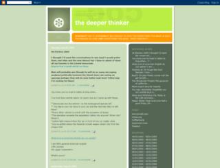 thedeeperthinker.blogspot.pt screenshot