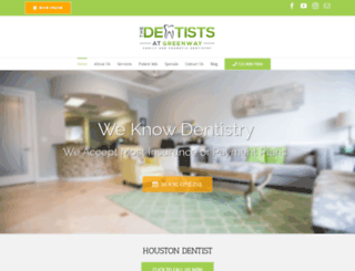 thedentistsatgreenway.com screenshot