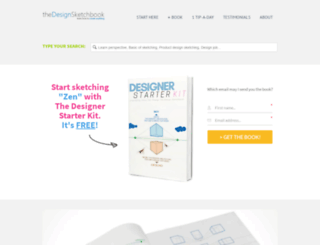 thedesignsketchbook.com screenshot