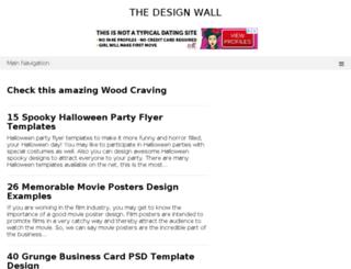 thedesignwall.com screenshot