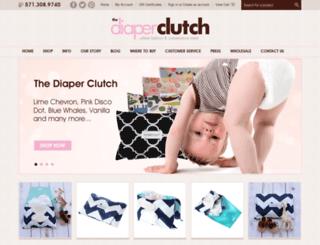 thediaperclutch.com screenshot