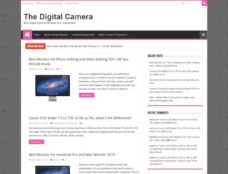 thedigitalcamera.net screenshot