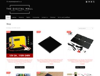 thedigitalmall.co.za screenshot