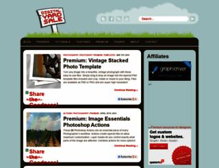 thedigitalyardsale.com screenshot