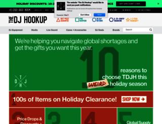 thedjhookup.com screenshot