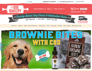 thedogbakery.myshopify.com screenshot