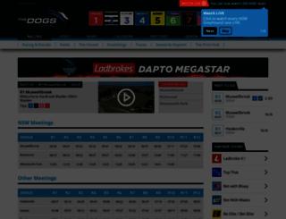 thedogs.com.au screenshot