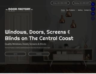 thedoorfactory.com.au screenshot