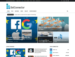 thedotconnector.org screenshot