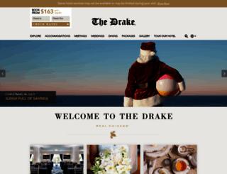 thedrakehotel.com screenshot