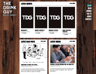 thedrinkguy.com screenshot