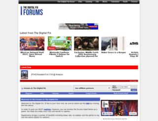 thedvdforums.com screenshot