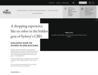 thedymocksbuilding.com.au screenshot