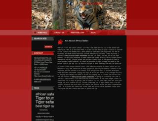 theearthsafari.webnode.com screenshot