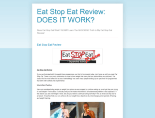 theeatstopeatreview.blogspot.com screenshot