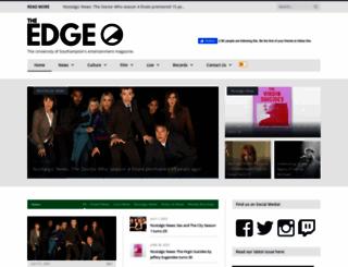 theedgesusu.co.uk screenshot