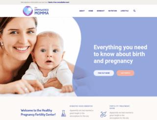 theempoweredmomma.com screenshot