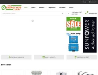 theenergyhub.com.au screenshot