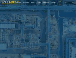 theescogroup.com screenshot