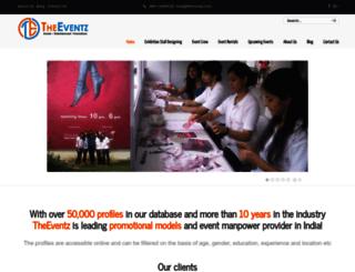 theeventz.com screenshot