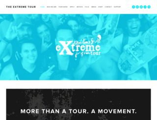 theextremetour.com screenshot