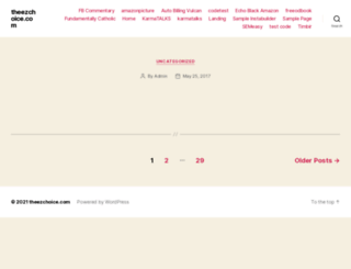 theezchoice.com screenshot